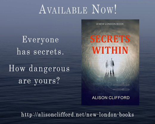 Secrets Within - a romantic suspense book by Alison Clifford