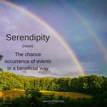 Word on Wednesday - Serendipity