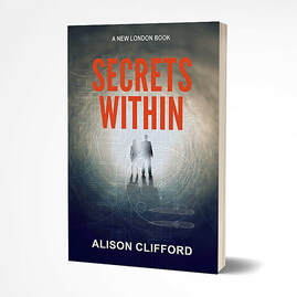 Secrets Within, romance suspense novel by Alison Clifford