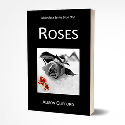 Roses, romance suspense novel by Alison Clifford