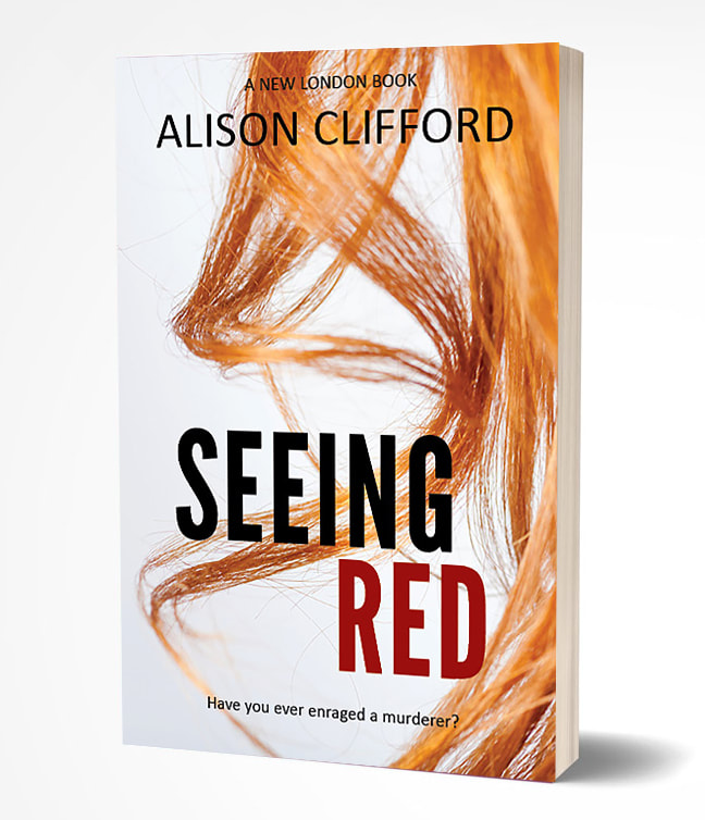 Seeing Red, romance suspense novel by Alison Clifford
